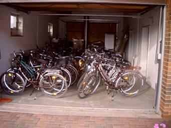 Fahrradscheune
